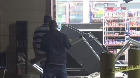 Roban un cajero automático en una tienda en el sureste de Houston
