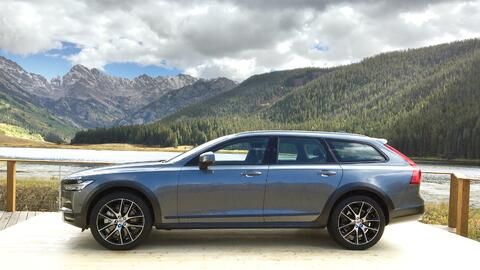 Volvo presenta a su nueva V90 Cross Country, la 'station wagon' con alma...