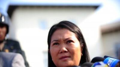 La candidata presidencial Keiko Fujimori, ganaría la segunda vuelta elec...