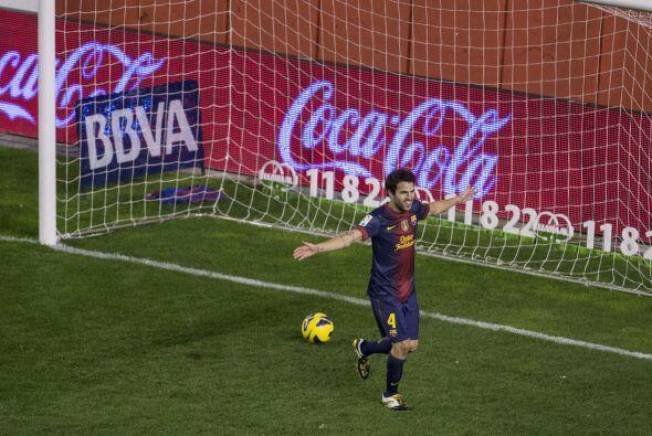 Cesc, como mejor se le conoce al jugador del Barcelona, está logrando re...