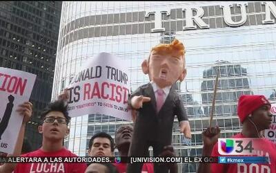 "Le dicen ""Basta"" a Trump"