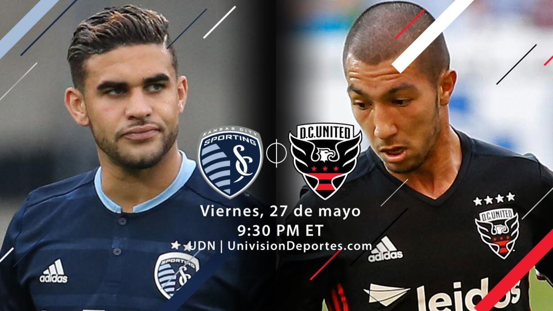 Sporting KC vs DC United, Viernes 27 de Mayo