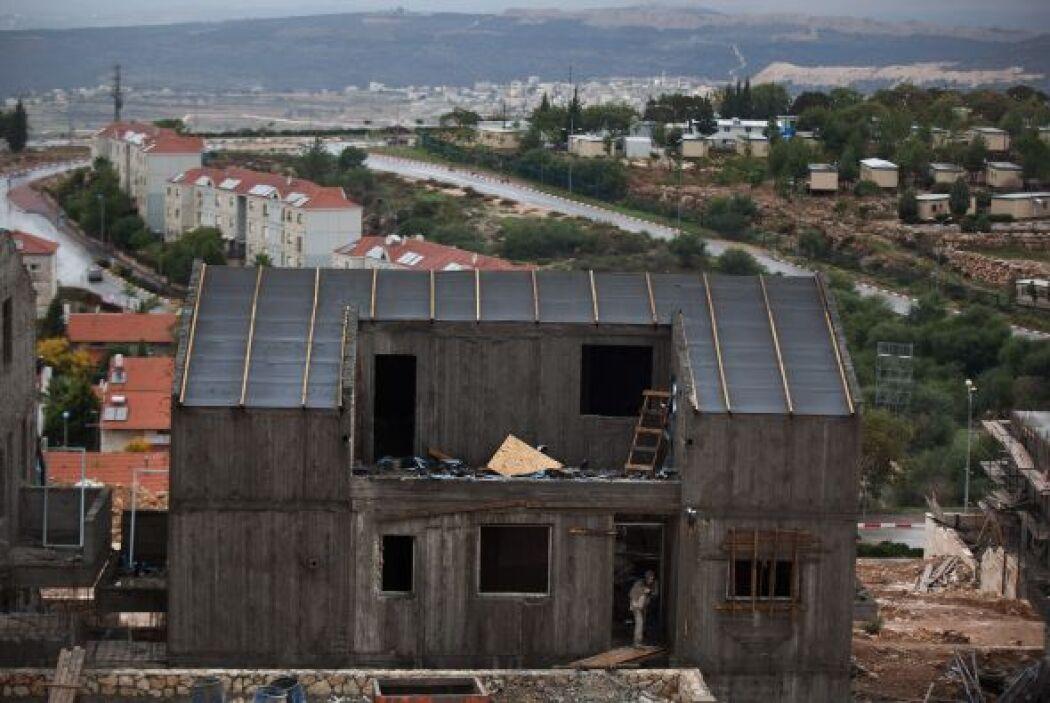 Las construcciones seguirán a pesar de que funcionarios palestinos de al...