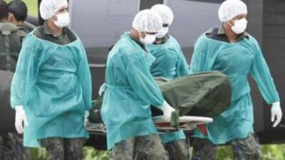 Los cuerpos de 18 brasileños que murieron en el accidente del vuelo de A...