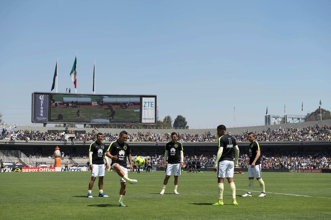 América sufrió, pero al final derrotó 3-2 a los Pumas en CU 001 Calentam...