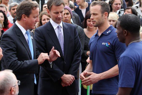 Después de Londres 2012, Pistorius se había fijado como meta participar...