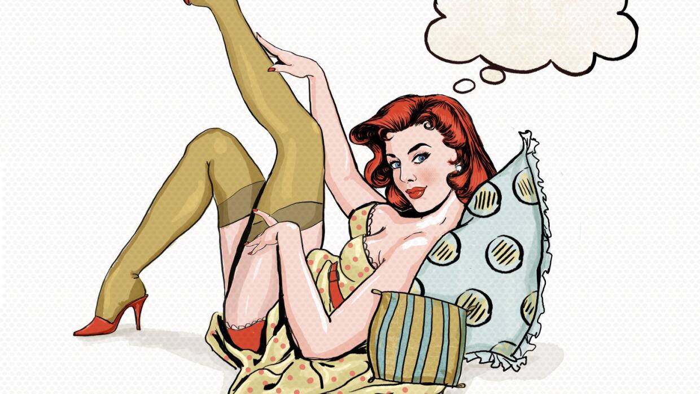 Mujer sexy ilustración