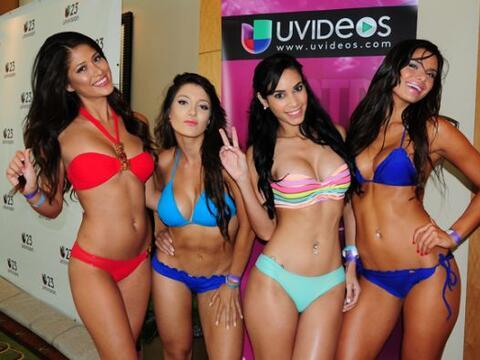 ¡Bikinazos! Las chicas que audicionaron en Miami para Nuestra Bell...