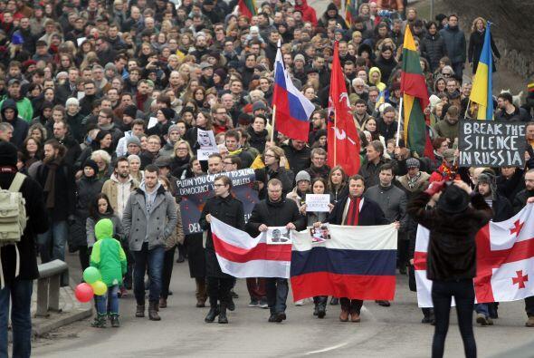 """""""Estimamos que han venido más de 70,000 personas"""", declaró a la AFP Alez..."""