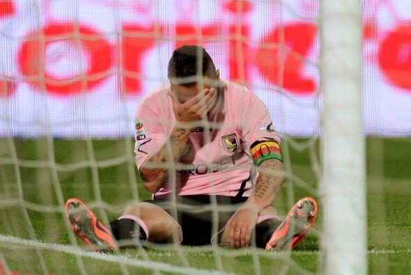 El Palermo luchó pero no pudo ante el poderío de la 'Juve'.