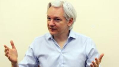 El fundador de WikiLeaks,Julian Assange.
