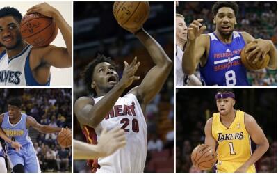 Generalmente a los novatos de la NBA les toma un poco de tiempo para ten...
