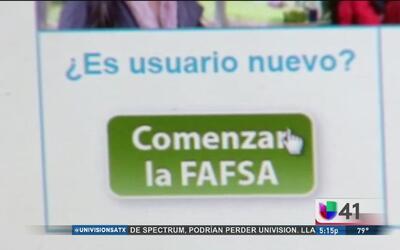 FAFSA, un apoyo financiero para estudiantes universitarios