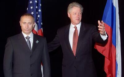 Vladimir Putin y Presidentes de EEUU