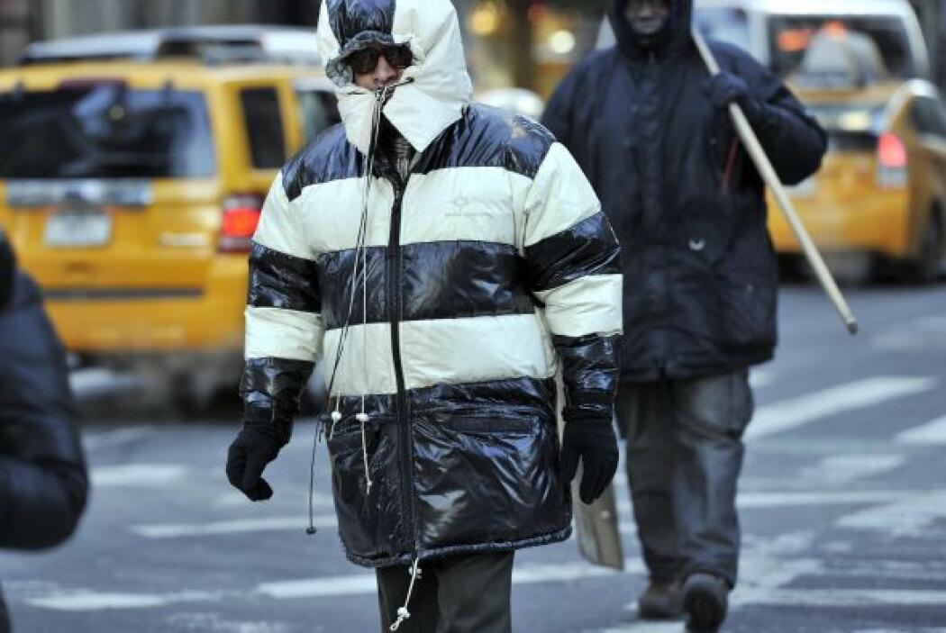 Los termómetros en Nueva York marcaron la mañana de este martes 14 grado...