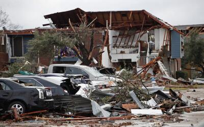 Desastre en Texas.