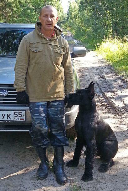 Aleksandr Matytsinse dio cuenta de que su cachorro de 10 meses era muy i...