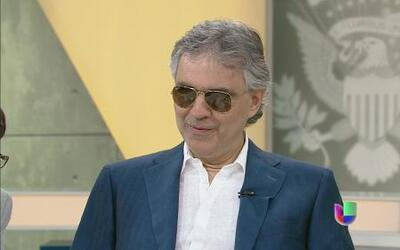 Al PuntoAndrea Bocelli en Al Punto sobre su carrera y como mantenerse vi...