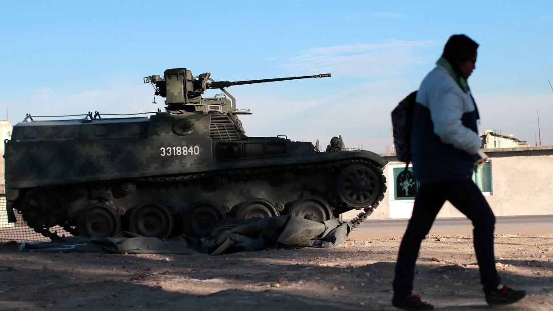 Vigilancia del Ejército mexicano