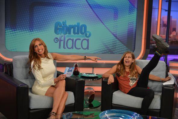 Su bella hija explicó que estaba muy nerviosa al hacer esta entrevista,...