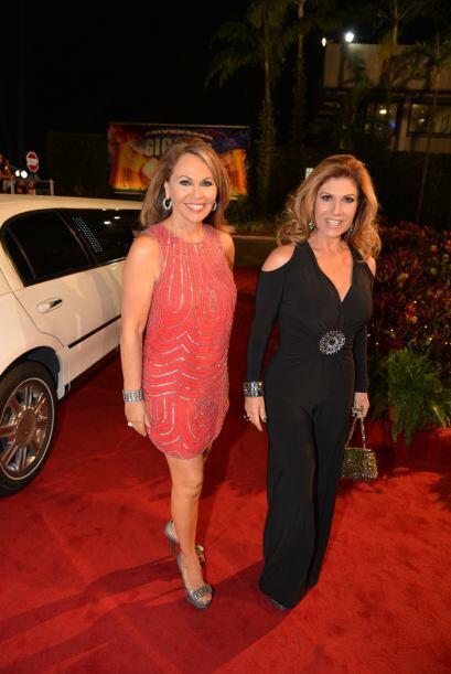 Las dos mujeres de la noticia María Elena Salinas y Teresa Rodr&i...
