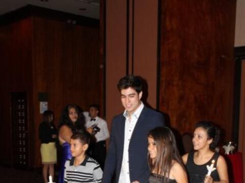 Danilo Carrera y otras estrellas de Univision acudieron al evento RotaGo...