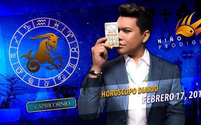 Niño Prodigio - Capricornio 17 de febrero, 2017