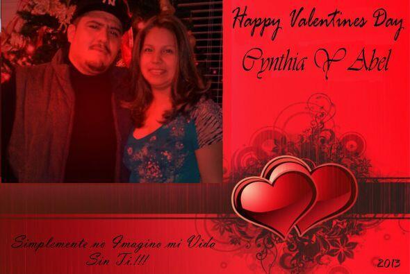 Bonito mensaje de amor de Cyntia Cabral para su esposo, Abel Pére...