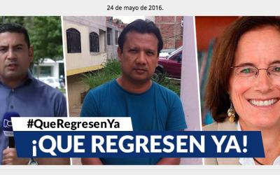 RCN denunció el posible secuestro del del periodista Diego D' Pablos y e...