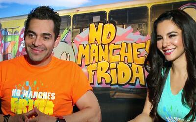 Omar Chaparro y Martha Higareda prometen muchas risas en 'No Manches Frida'