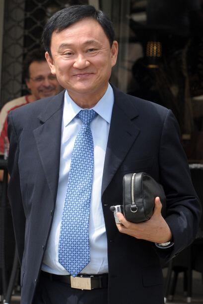 El ex primer ministro de Tailandia Thaksin Shinawatra también est...