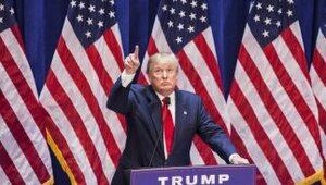 El aspirante a la nominación presidencial republicana,Donald Trump.