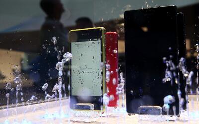 ¿Qué tanto resisten al agua los artefactos que se pueden mojar?