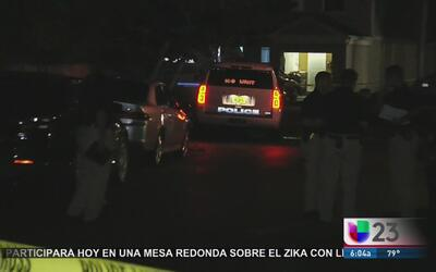 Investigan incidente de violencia doméstica en Sunrise