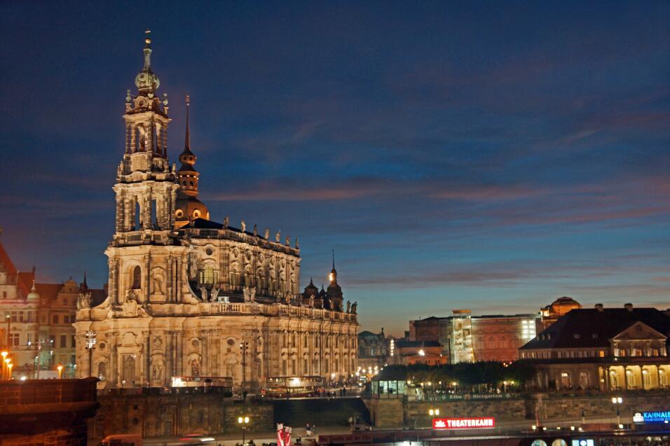 Los planificadores urbanos querían una nueva imagen para la capital sajo...