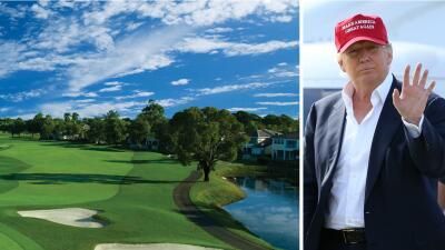 Trump demanda a cinco vecinos de su hotel en Doral