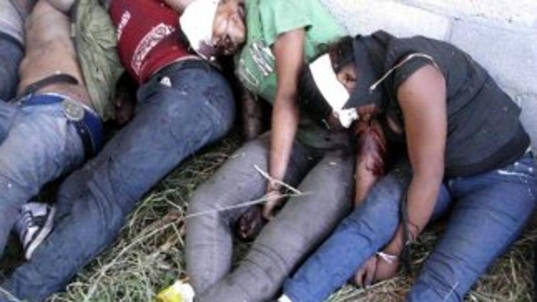 En un rancho de Tamaulipas, México, narcotraficantes ejecutaron a 73 inm...