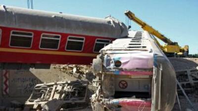 El tren de 12 vagones transportaba a mil 328 soldados.