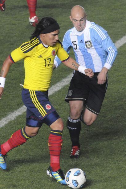 Moreno entró cuantas veces lo intentó al área argen...