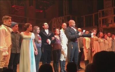 Actores de 'Hamilton' le mandan mensaje de respeto a la diversidad a Mik...