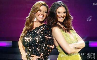 Alicia Machado y Denise Quiñones, las madrinas de Nuestra Belleza Latina...