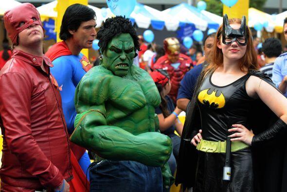 La ciudad de Los Ángeles (California) batió el récord Guiness de persona...