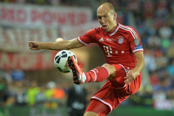 El Bayern siguió controlando el juego estando debajo en el marcador.