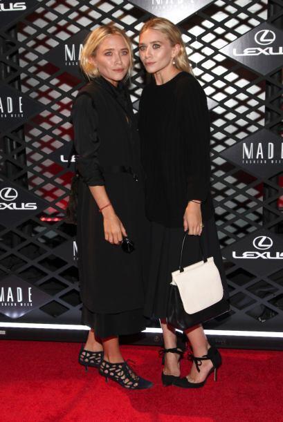 "A las gemelas Olsen no les lucían las ""garritas"" que ll..."