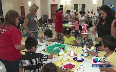 Head Start prepara a los niños para el kínder