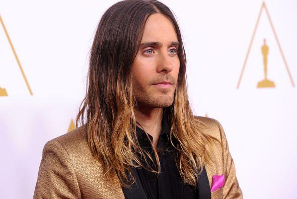 "El actor y músico Jared Leto, favorito al ""scar por ""Dallas Buyers Club""..."