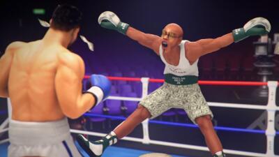 Floyd Mayweather Jr se espanta ante la visión de Amir Khan.