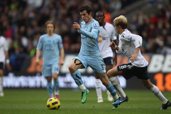 El lateral del momento, Bale, no pudo cambiar la historia y el Tottenham...