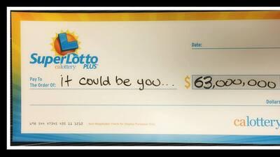 El premio a reclamar era de $63 millones