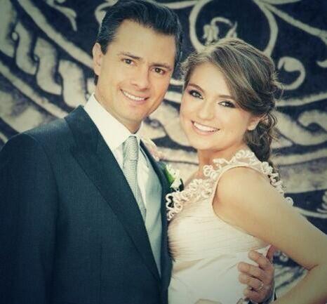 Sofía considera a Enrique Peña Nieto su segundo padre.